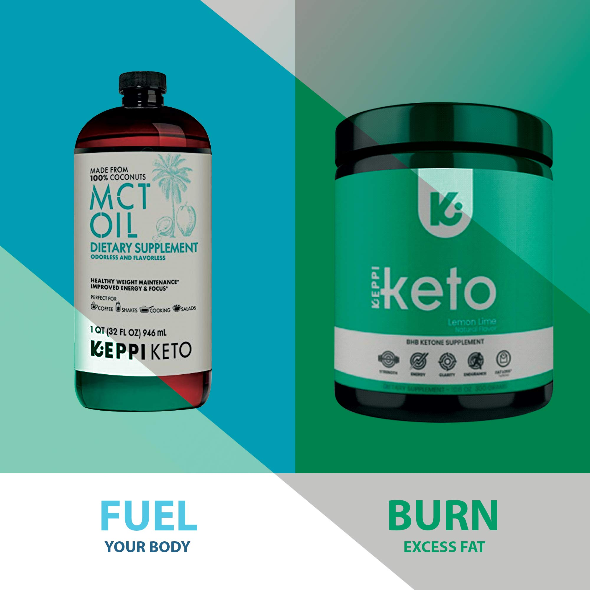 KEPPI Keto Exogenous Ketones Powder Supplement: Patented BHB Salts Formulated to Increase Energy, Burn Fat, Maintain Ketosis and Mental Focus on The Ketogenic Diet by Keppi (Image #8)