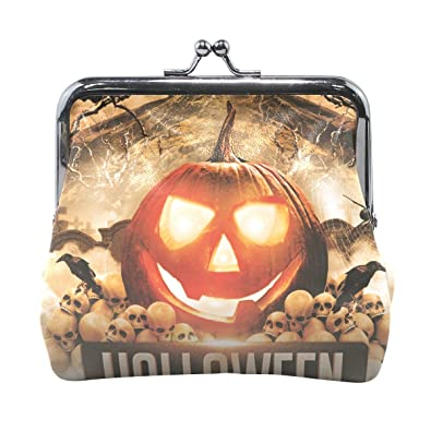 Image Unavailable. Image not available for. Color  DEYYA Womens Halloween  Party Clasp Coin Purse ... d7deaf4c7