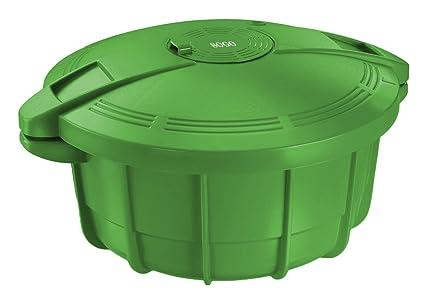 SOGO Olla a Presión, Verde, 31 cm