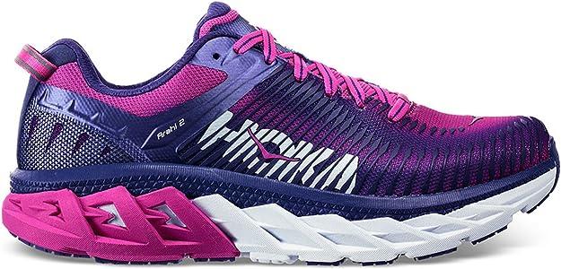 HOKA ONE ONE Arahi 2 Zapatillas de correr para mujer, (Liberty/Fucsia), 41 EU: Amazon.es: Zapatos y complementos