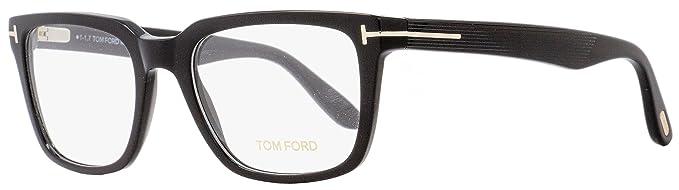 9bb834311e54 Amazon.com  New Tom Ford Eyeglasses Men TF 5304 Black 001 TF5304 ...