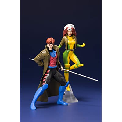 Marvel Universe X-Men '92: Gambit & Rogue Artfx+ Statue Two Pack: Toys & Games