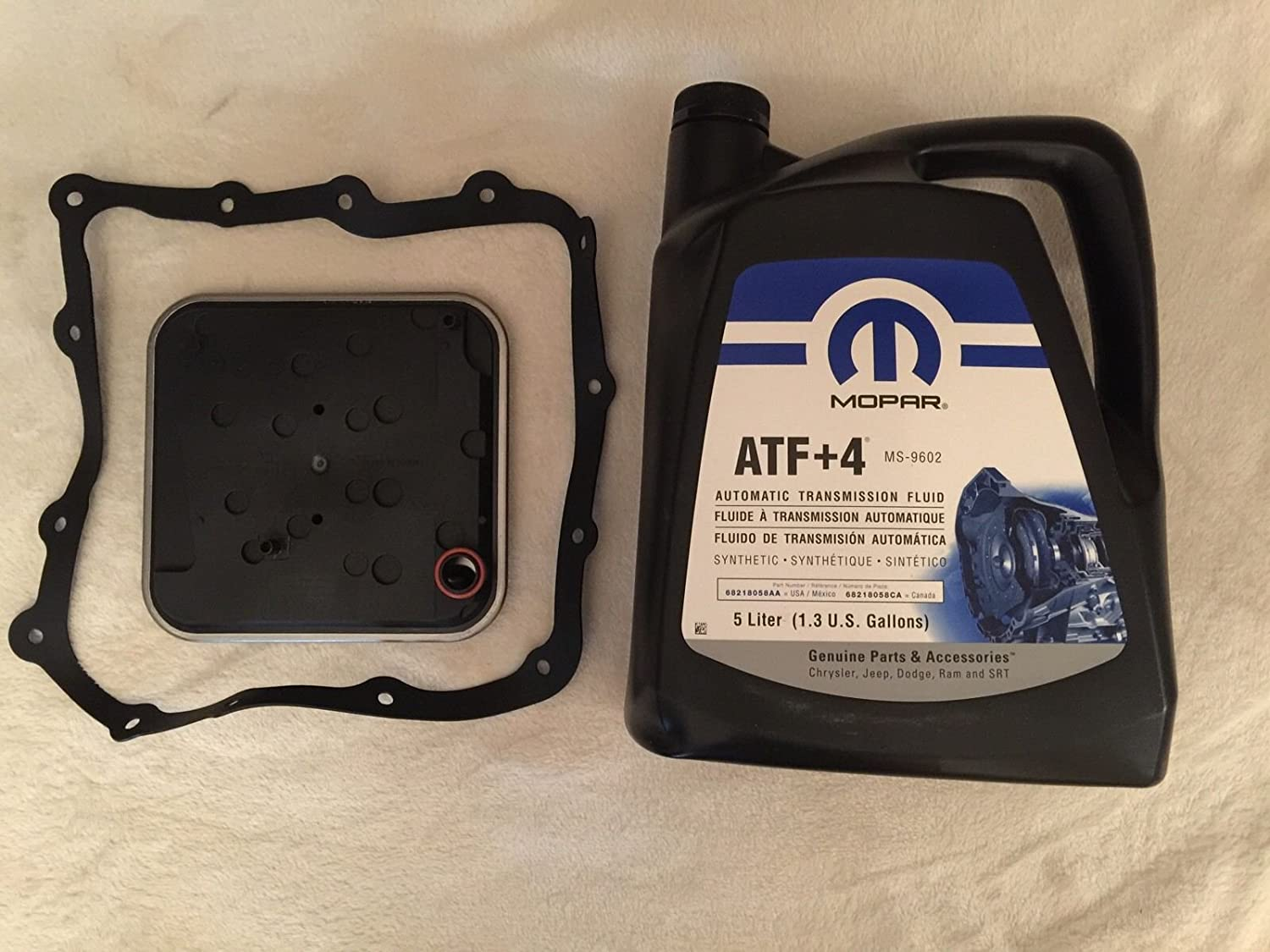 Origine Mopar Windows Installer XML 58934  AFT + 4  Kit de service de transmission automatique Filtre + 5  L MOPAR WIX