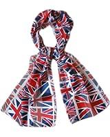Echarpe Cheche Foulard Drapeau anglais Angleterre Uk Londres 150x31cm