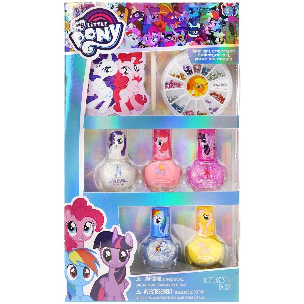 Amazon.com: TownleyGirl My Little Pony Spa Set, Nail Polish, Buffer ...