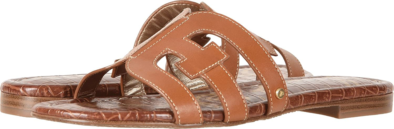 Sam Edelman Women's Bay Slide Sandal B0762SPHY4 7 W US|Saddle Vaquero Saddle Leather
