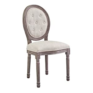 Modway EEI-2795-BEI Arise Dining Side Chair, Fully Assembled One, Beige