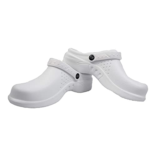7a6e687c7404a Natural Uniforms Ultralite Women's Clogs with Strap, Medical Work Mule