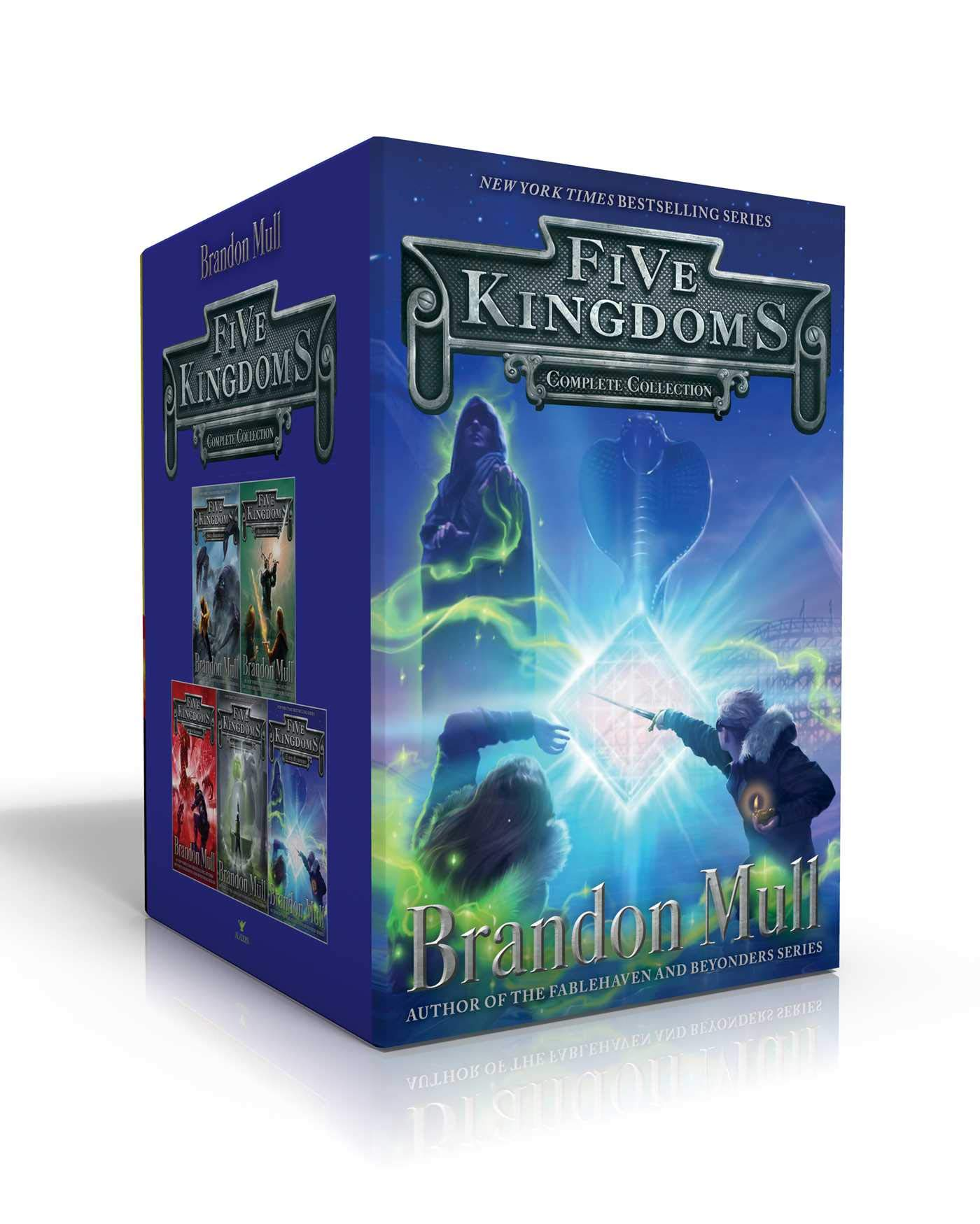 Five Kingdoms Complete Collection: Sky Raiders; Rogue Knight ...