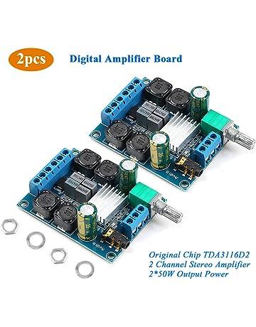 KKmoon TPA3116D2 2 50W+100W 4.2 Channel Digital Subwoofer Power Amplifier Board