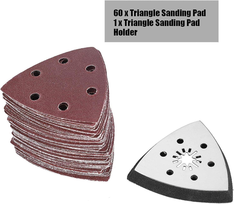 m/étal mou plastique meulage pour cuir tampon de pon/çage r/ésistant /à lusure Super Durable de 90 mm Papier abrasif oscillant haute efficacit/é 264g pratique bois