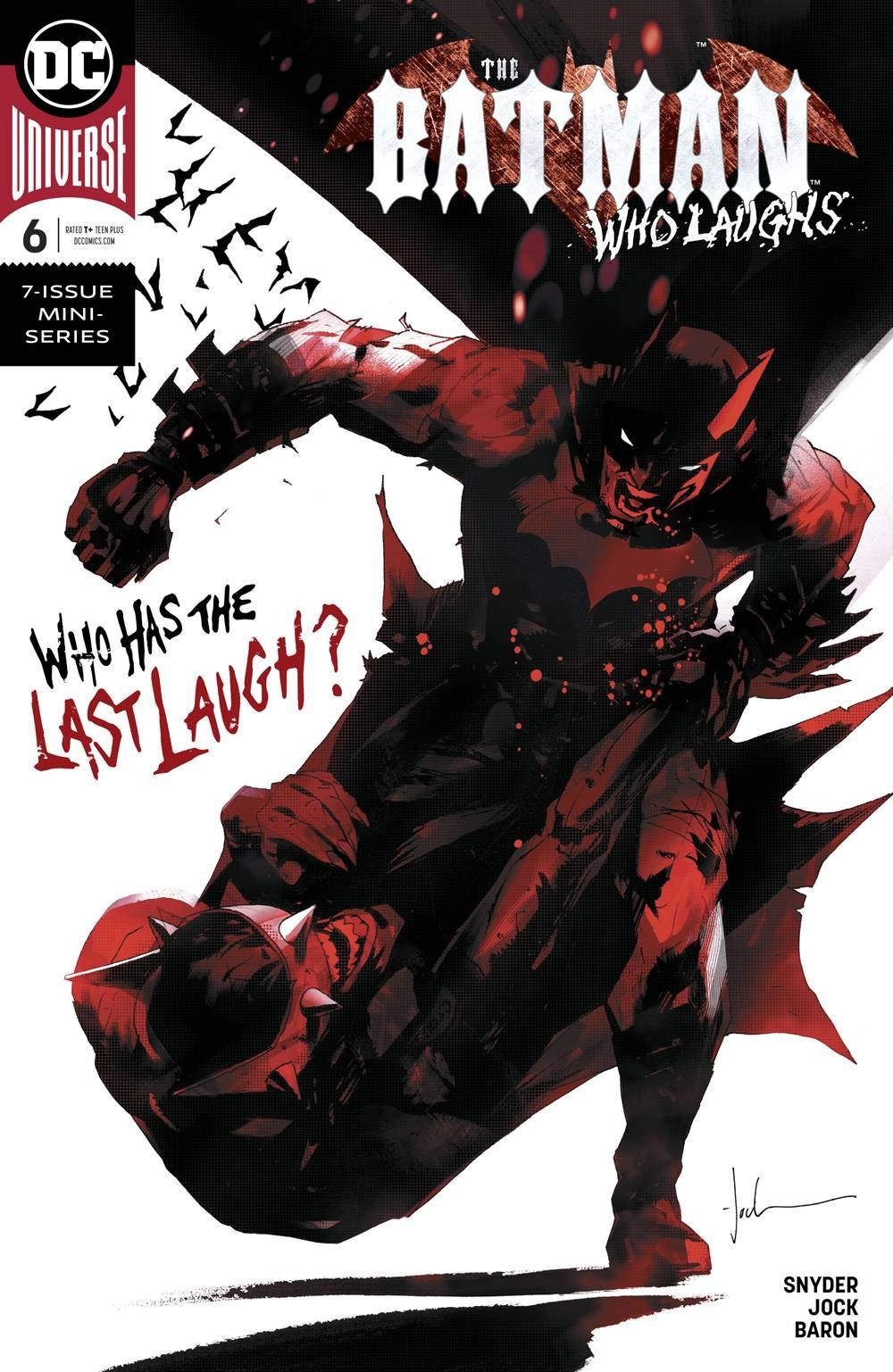 Batman Who Laughs #1 Cover A Regular Jock Cover