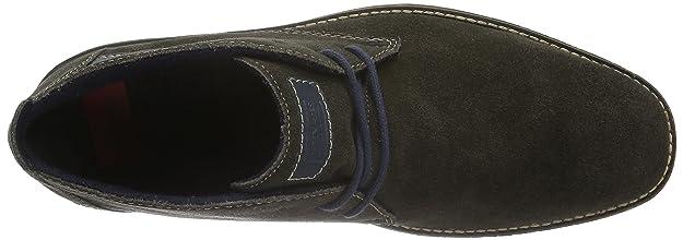 Rieker F1301, Botas Desert para Hombre, Gris (Graphit/Navy / 45), 44 EU: Amazon.es: Zapatos y complementos