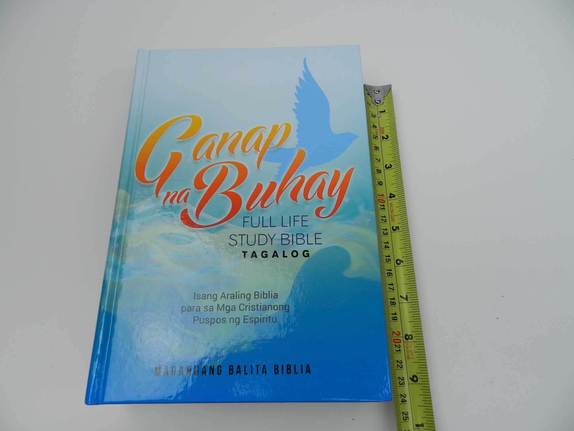 Tagalog Full Life Study Bible, Hardcover / Ganap na Buhay