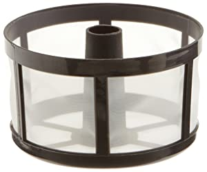 Tops 55715 Perma-Brew 3 Year Re-useable Coffee Filter, Disk/Wrap Around (Color: Black, Tamaño: 1 Pack)
