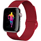 HILIMNY Compatible para Correa Apple Watch 38MM 42MM, Milanese Sport Correa, Compatible para iWatch Series 3, Series 2, Series 1