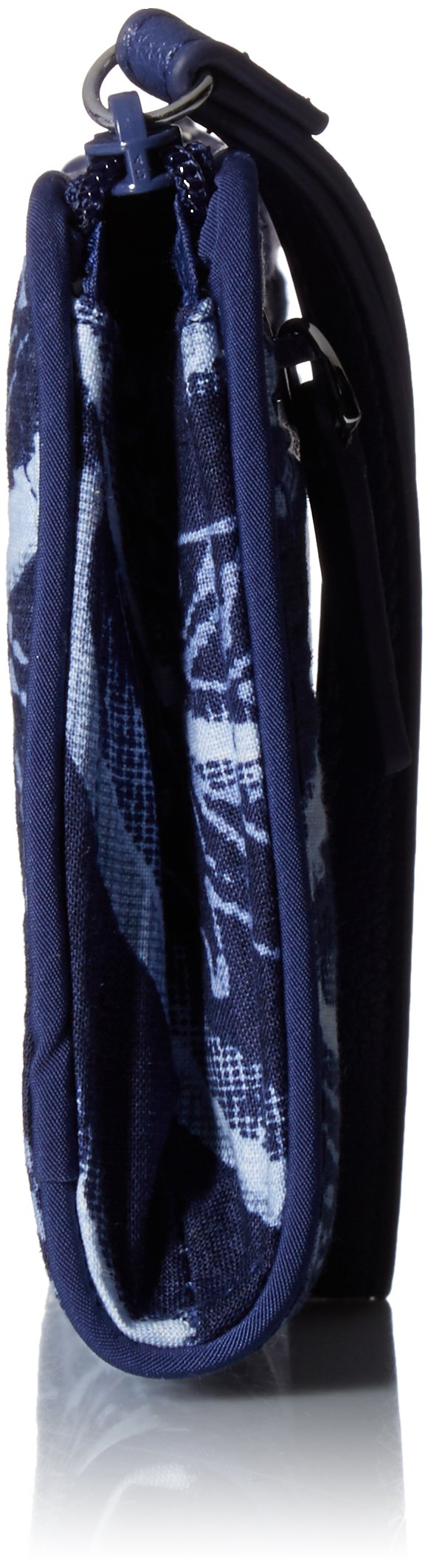 Vera Bradley Rfid Front Zip Wristlet, Signature Cotton,One Size,Indigo by Vera Bradley (Image #3)