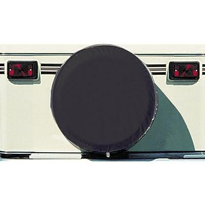 "ADCO 1738 Black Vinyl Spare Tire Cover L (Fits 25 1/2"" Diameter Wheel): Automotive"