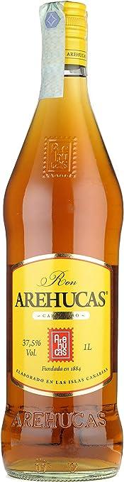 AREHUCAS Ron Carta Oro - 1000 ml, Botella (006101)
