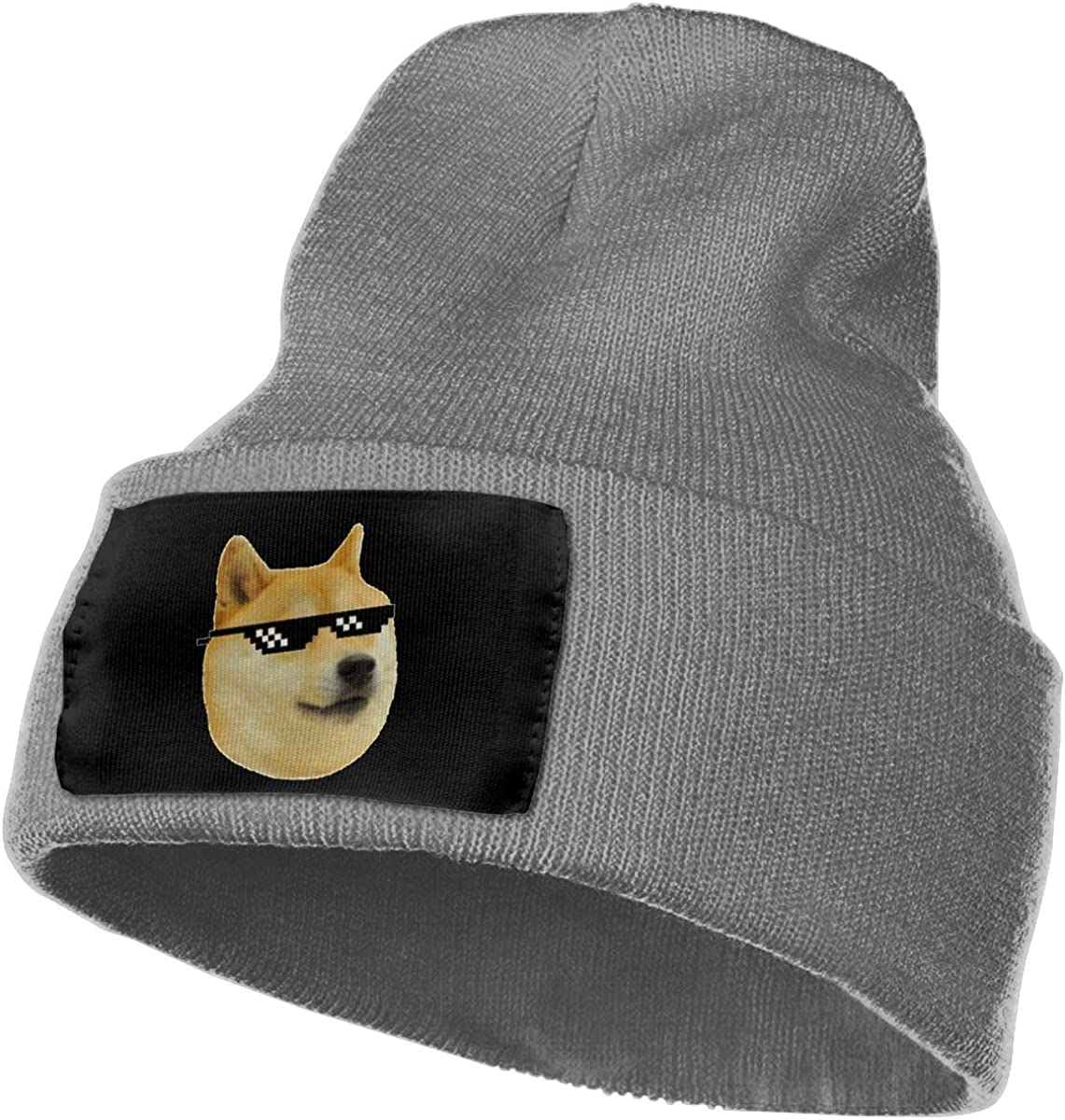 Unisex Winter Hats Shiba Inu Faces Skull Caps Knit Hat Cap Beanie Cap for Men//Womens