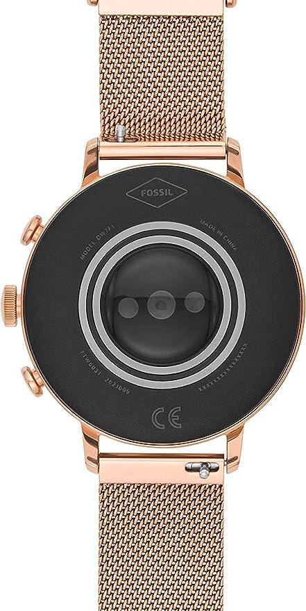 Fossil FTW6031P Reloj Inteligente Oro Rosa: Amazon.es ...