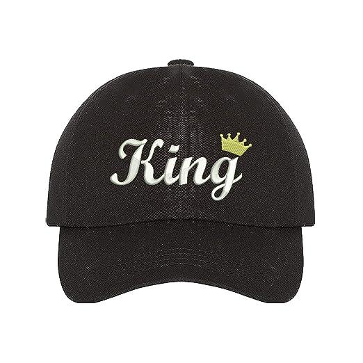 bfb84478285 Prfcto Lifestyle King Dad hat- Black Baseball Cap- Unisex at Amazon ...
