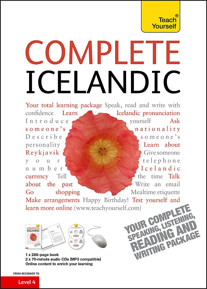 Complete Icelandic Beginner to Intermediate Course: (Book