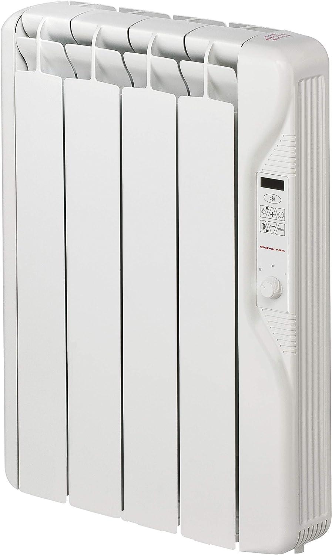 Gabarrón - Emisor de Fluido térmico RF4E Plus. Radiador eléctrico programable de 500W y 4 Elementos con Tres Niveles de Temperatura