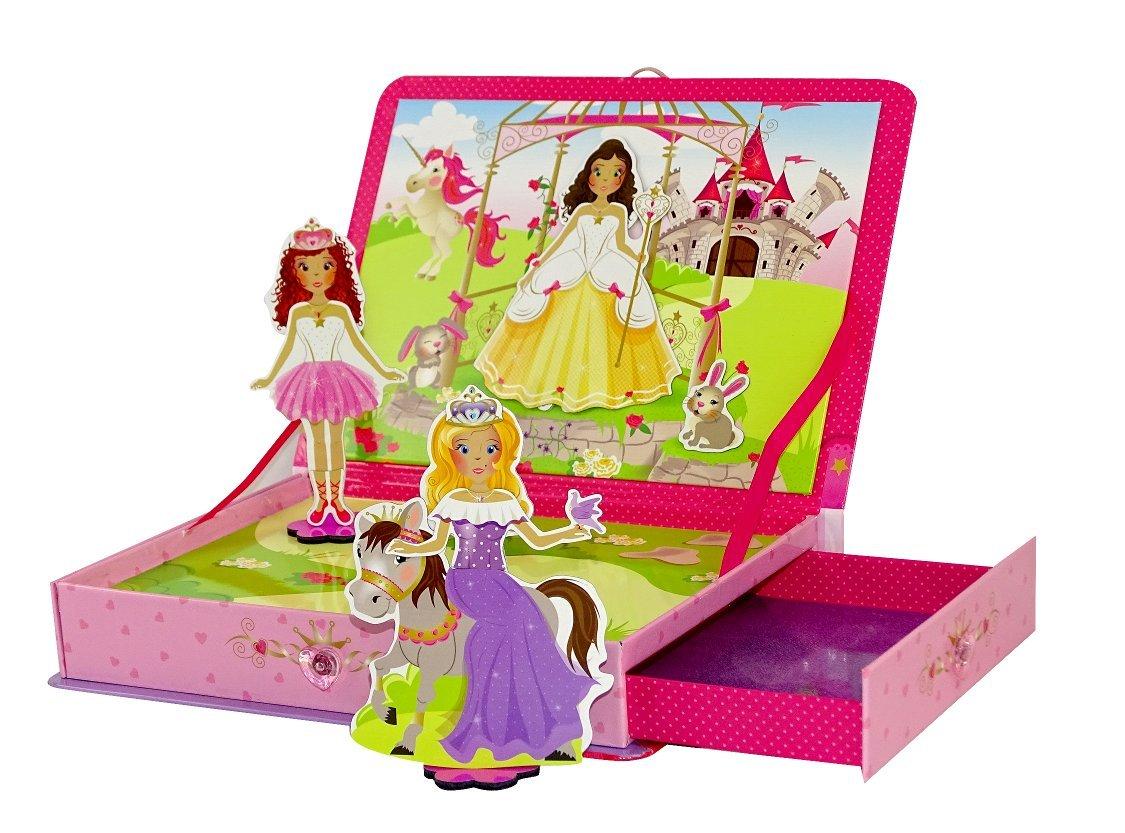 Coffret Princesses MAGNETIK - Un jeu magnétique créatif et éducatif / par Doux Moulin product image