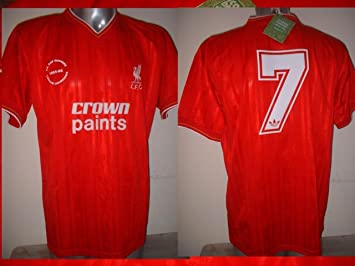 the best attitude 2b400 1157f Liverpool KENNY DALGLISH 1986 Retro Adult Large Shirt Jersey Soccer  Football BNWT New Crown paints Score Draw