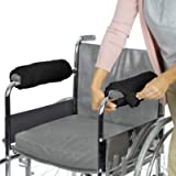 Vive Wheelchair Armrest Cover (Pair) - Memory Foam Sheepskin Pad for Office & Transport Chair - Soft Support Cushion…