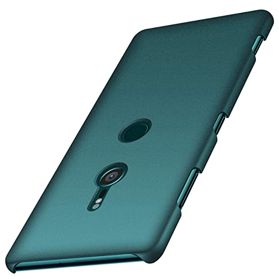 official photos b7722 81d2d anccer Colorful Series for Sony Xperia XZ3 Case Ultra-Thin Fit Premium PC  Material Slim Cover for Sony Xperia XZ3 (Not for Xperia XZ2) (Gravel Green)