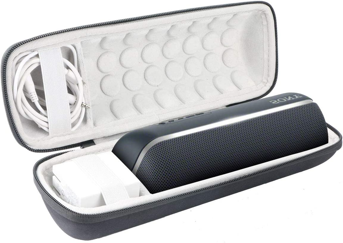 Khanka Hard Travel Case Replacement for Sony SRS-XB22 Extra Bass Portable Bluetooth Speaker Black