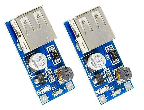 Step Up Spannungsregler DC 0.9-5V auf 5V 600mA USB Boost Converter Modul