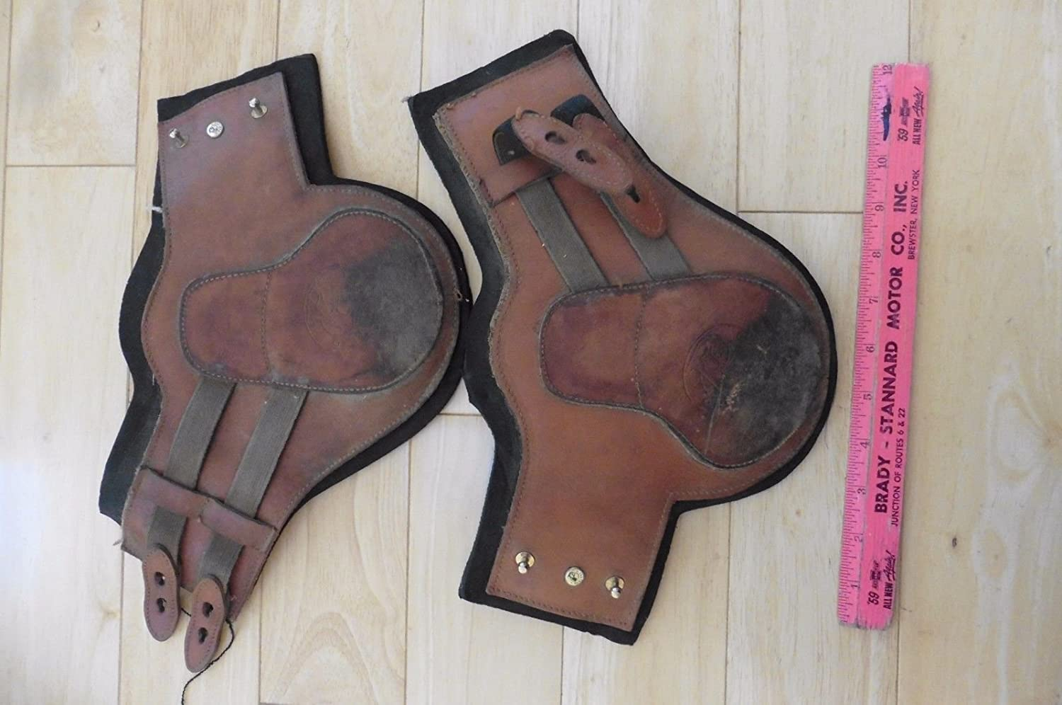 2 PARIANI Removable NEOPRENE LINED Leather FETLOCK JUMPING BOOTS:  Amazon.ca: Sports & Outdoors