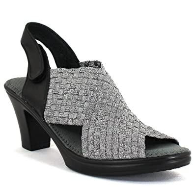 5a4ced60ec77 Bernie Mev Women s Beatrice Fabric Casual Sandals