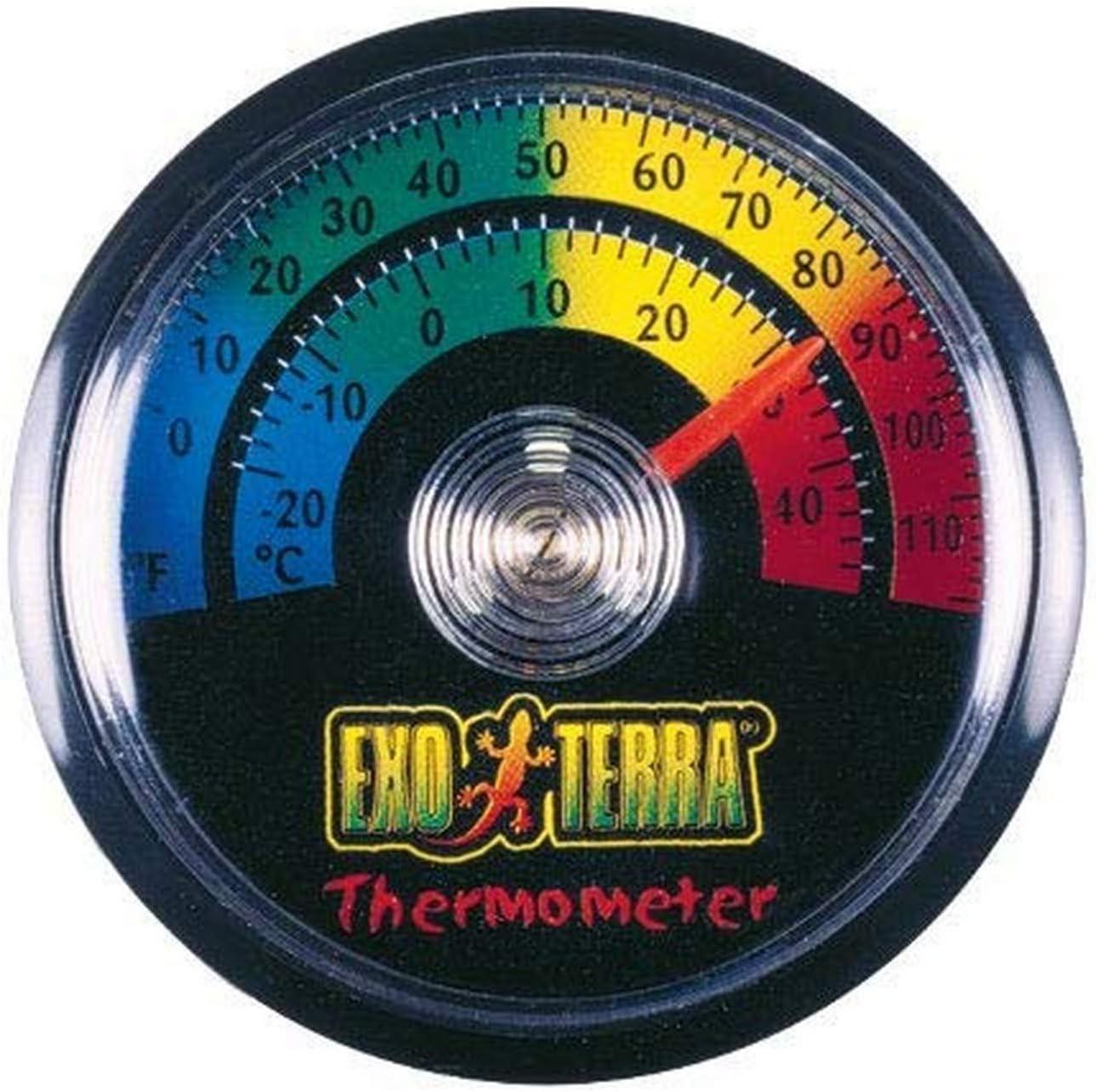 Exoterra ExoTerraTermómetroRedondo