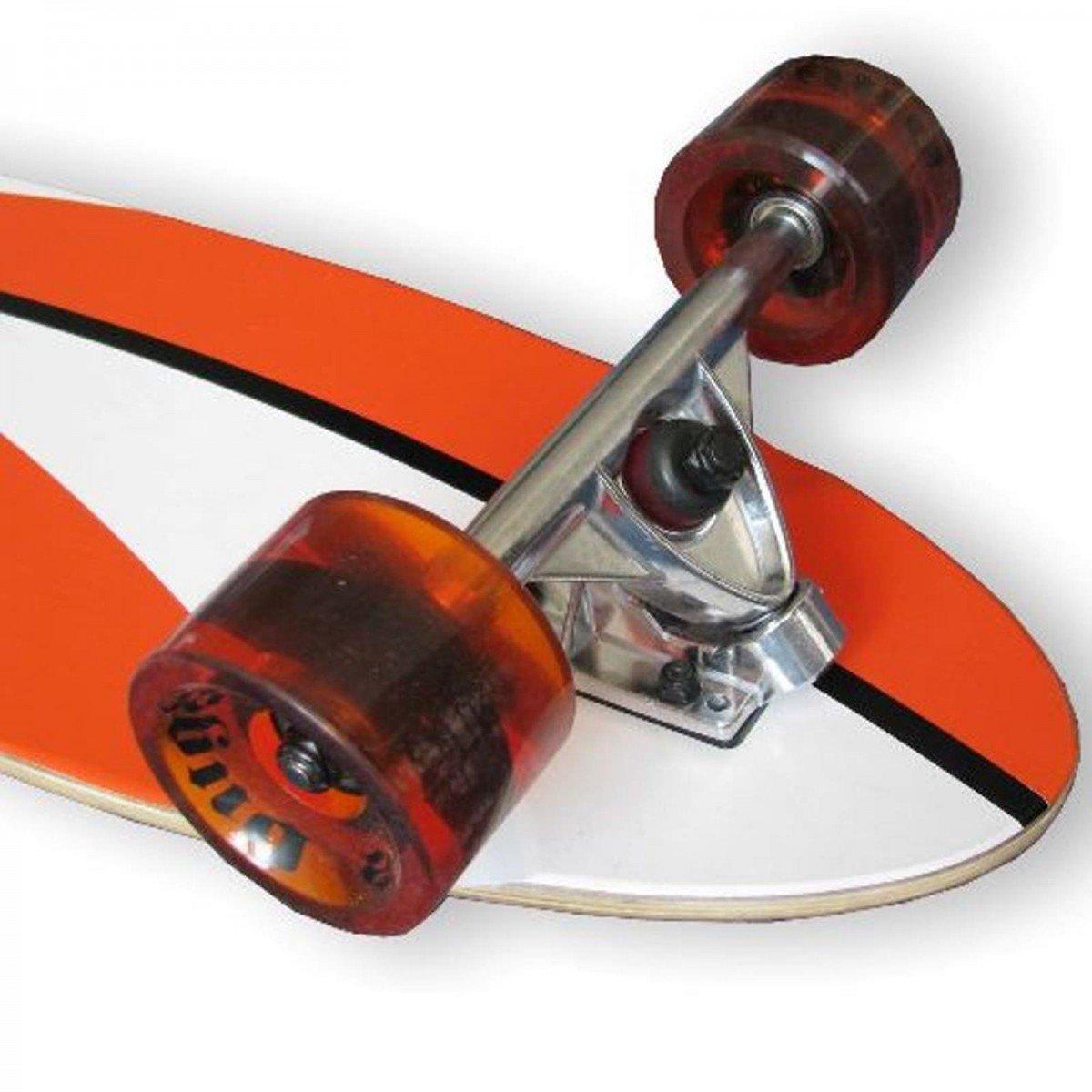 BUGZ Skateboard Longboard Cruiser 117 komplettes Longboard