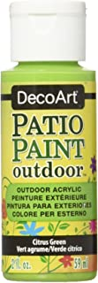product image for DecoArt Patio Paint, 2-Ounce, Citrus Green