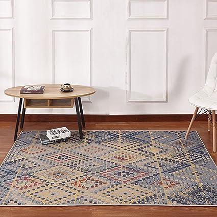 b458e3fe61106 Amazon.com: Area Rugs Carpet Living Room Coffee Table Sofa Bedroom ...