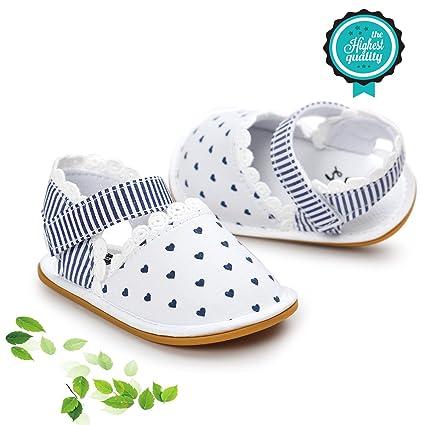 Zapatos de Bebé, Morbuy Unisexo Zapatos Bebe Primeros Pasos Verano Recién nacido 0-18