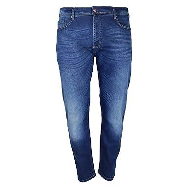 Duke - Pantalones Vaqueros Estrechos elásticos Modelo ...