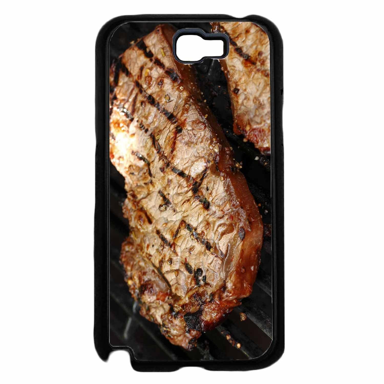 Amazon.com: Carne a la parrilla – Teléfono móvil cubierta ...
