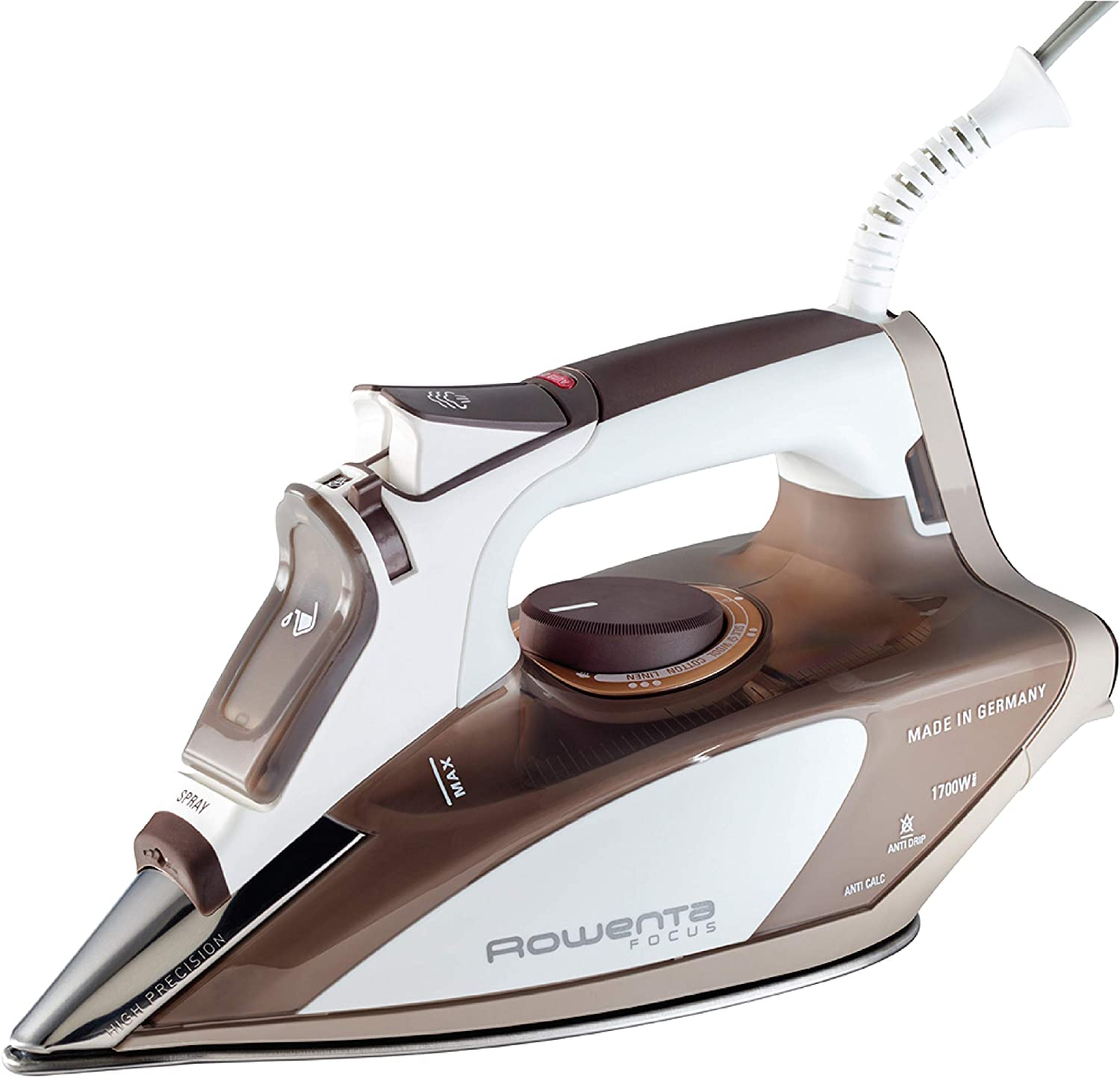 Editor's choice for Best Iron for Quilting: Rowenta DW5080 1700 Watt Steam Iron