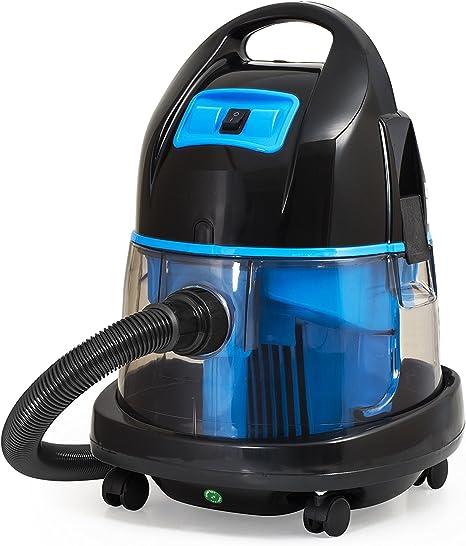 Aspiradora con filtro de agua sin bolsa agua aspirador mojado y seco aspiradora 2.400 W azul: Amazon.es: Hogar