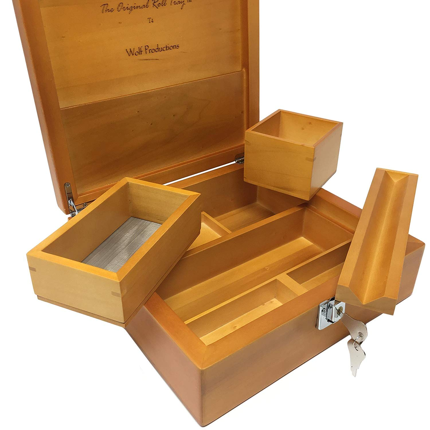 Wolf Productions Deluxe Rolling Box T4 Deluxe
