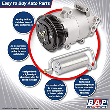 For Toyota Camry 2009 AC Compressor w//A//C Drier BuyAutoParts 60-86703R2 New