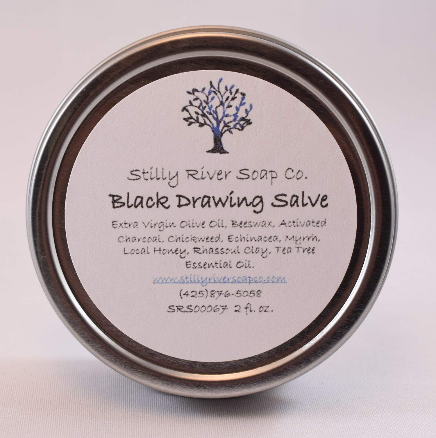 Black Drawing Salve by Stilly River Soap Co. Natural Products