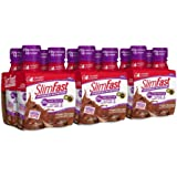 SlimFast Advanced Nutrition Creamy Chocolate Shake – Meal Replacement – 20g of Protein – 11oz – 12 Count