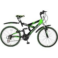Hero Sprint Next 26T 6 Speed Mountain Cycle (Green/Black)
